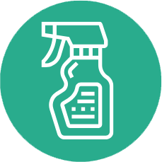 Deep Disinfectant Cleaning Icon